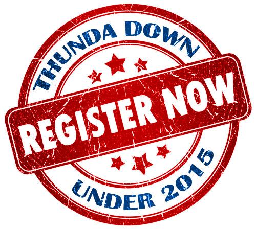 Register Now for Thunda Down Under 2015